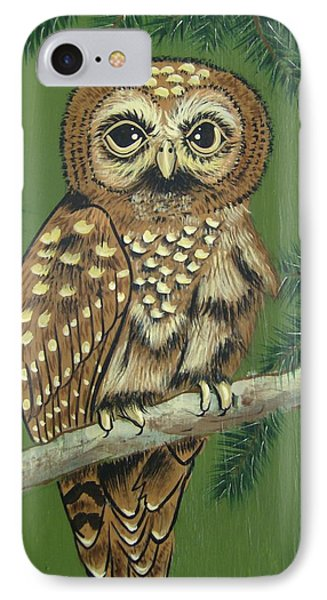 Spotted Owl IPhone Case