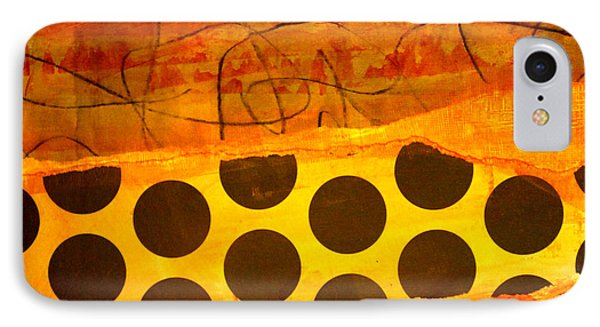 Spotted Sunset IPhone Case by Nancy Merkle