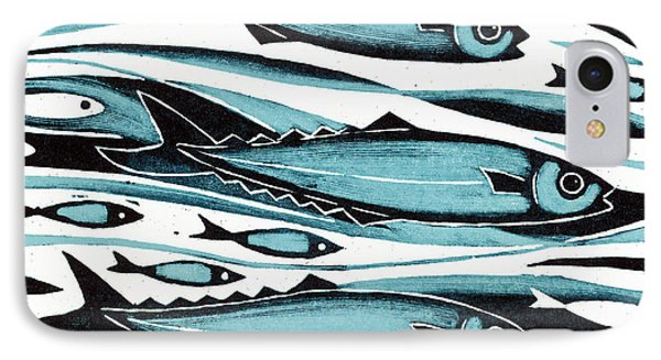 Sprats Phone Case by Nat Morley