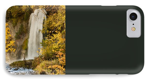 Spray Rises From Spearfish Falls IPhone Case
