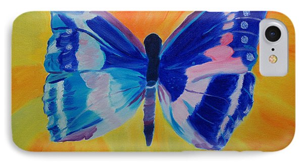 Spreading My Wings IPhone Case by Meryl Goudey