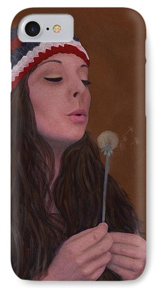 Spreading The Seeds IPhone Case by Barbara St Jean