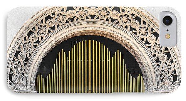 Spreckels Organ Balboa Park San Diego Phone Case by Christine Till