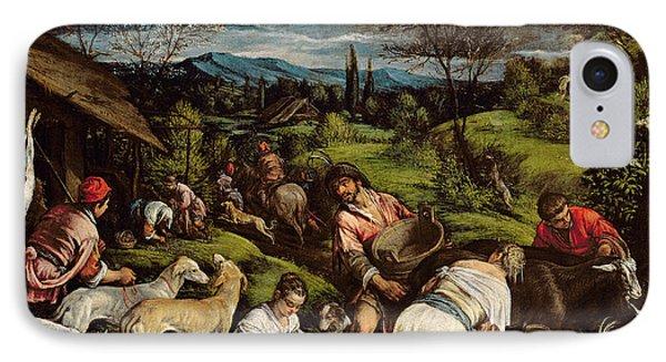 Spring, 1576 IPhone Case by Francesco Bassano