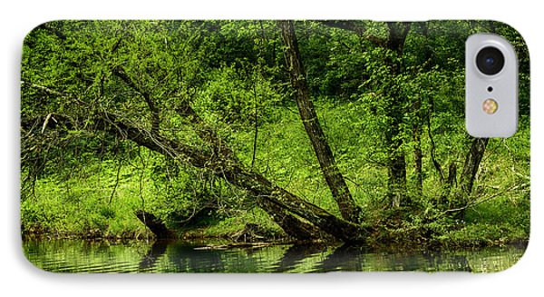 Spring Along West Fork River Phone Case by Thomas R Fletcher