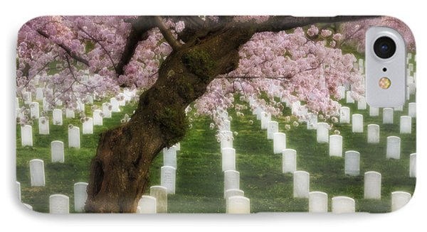 Spring Arives At Arlington National Cemetery IPhone Case