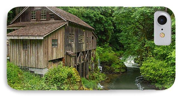 Spring At Cedar Creek Grist Mill IPhone Case