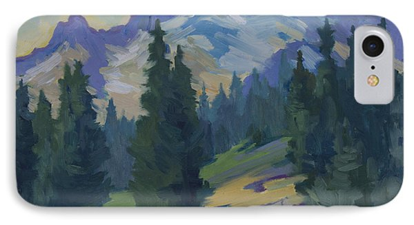 Spring At Mount Rainier Phone Case by Diane McClary