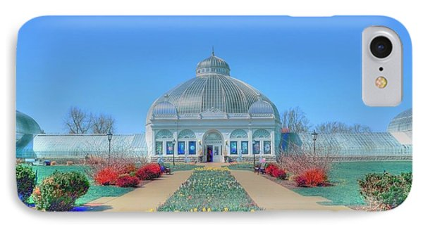 Spring At The Gardens Phone Case by Kathleen Struckle