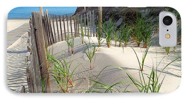 Spring Beach IPhone Case by Dianne Cowen