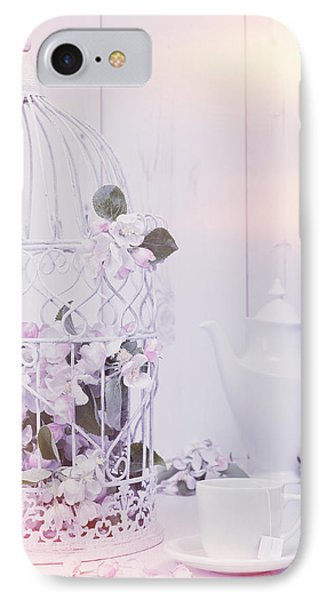 Spring Birdcage IPhone Case by Amanda Elwell