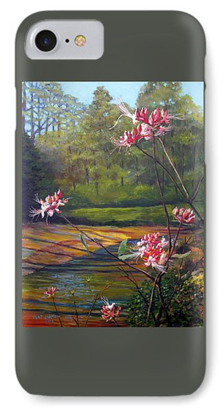 Spring Blooms On The Natchez Trace IPhone Case by Jeanette Jarmon