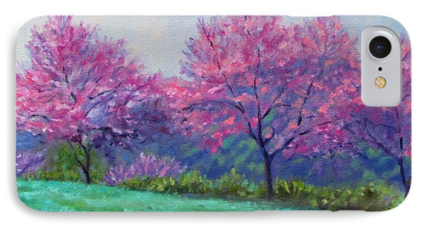 Spring Blossoms On Mill Mountain IPhone Case