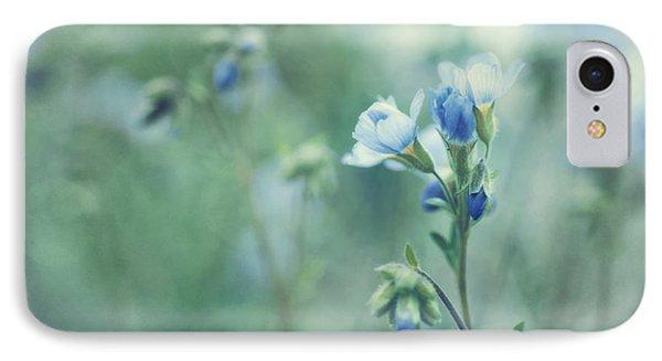 Spring Blues Phone Case by Priska Wettstein