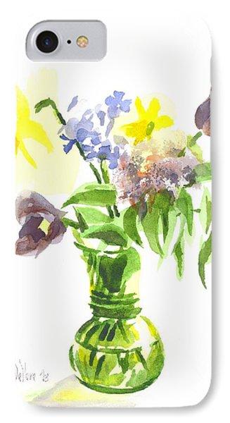 Spring Bouquet IIi Phone Case by Kip DeVore