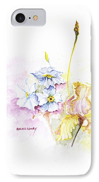Spring Bouquet IPhone Case by Rachel Lowry