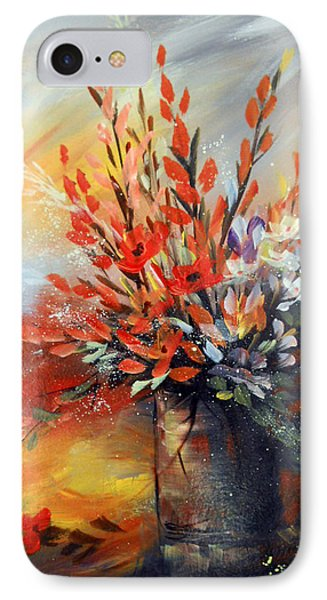 IPhone Case featuring the painting Spring Branches by Dorothy Maier