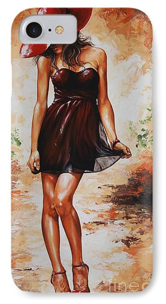 Spring Breeze 04 IPhone Case by Emerico Imre Toth