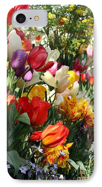 IPhone Case featuring the photograph Spring Bulb Bonanza by Mary Lou Chmura