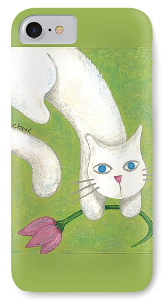 Spring Cat IPhone Case