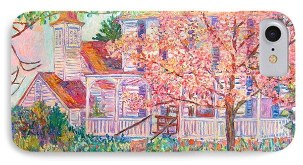Spring Church Scene Phone Case by Kendall Kessler