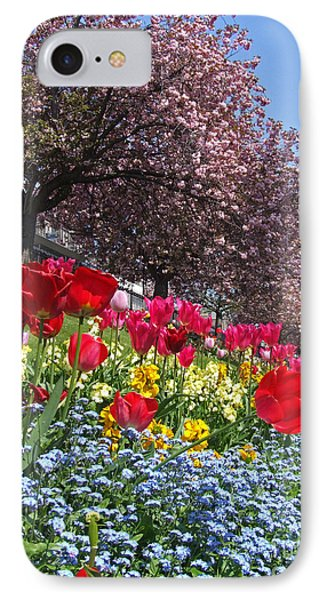 Spring Colours - Edinburgh IPhone Case