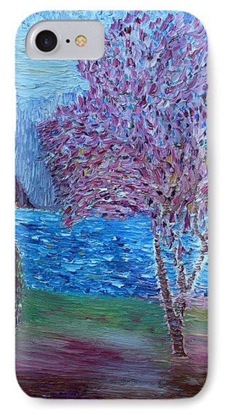 Spring Crabapple Tree Phone Case by Vadim Levin