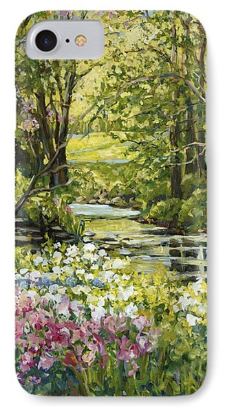 Spring Creek Rockford Il IPhone Case by Alexandra Maria Ethlyn Cheshire