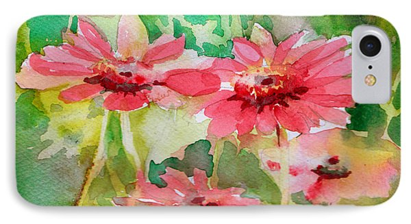 Spring Daisies In The Pink Phone Case by Mindy Newman
