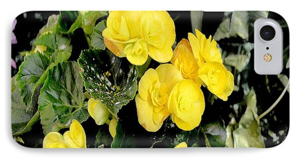 IPhone Case featuring the photograph Spring Delight In Yellow by Luther Fine Art
