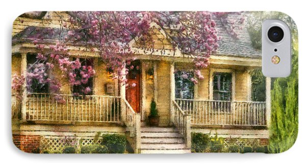 Spring - Door - Vacation House Phone Case by Mike Savad