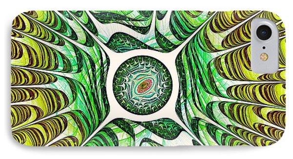Spring Dragon Eye Phone Case by Anastasiya Malakhova