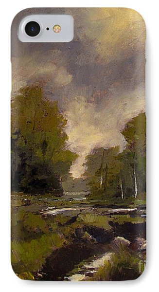Spring Eel Marsh IPhone Case by Charlie Spear