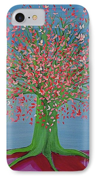 Spring Fantasy Tree By Jrr IPhone Case by First Star Art