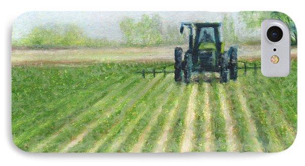 Spring Field IPhone Case by Natasha Denger