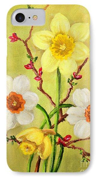 Spring Flowers 2 Phone Case by Randy Burns