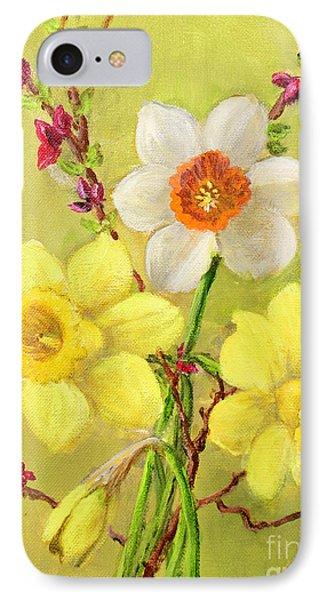 Spring Flowers Phone Case by Randol Burns