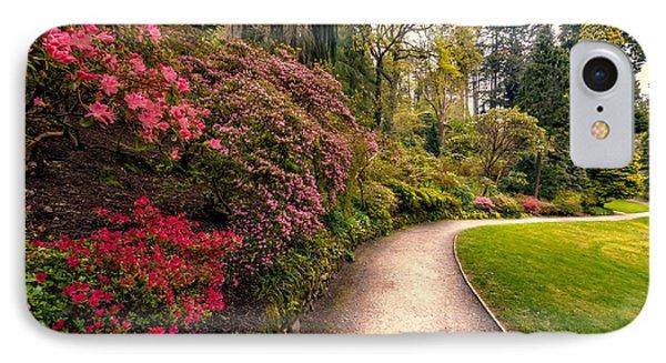 Spring Footpath IPhone Case by Adrian Evans