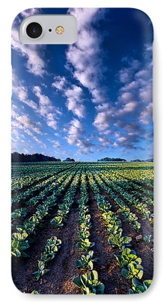 Cabbage iPhone 7 Case - Spring Fresh by Phil Koch