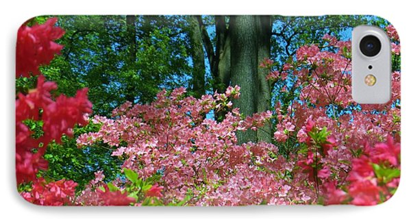 IPhone Case featuring the photograph Spring Garden Color by Jeanette Oberholtzer