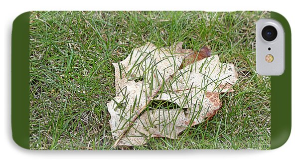 Spring Grass Growing Phone Case by Ann Horn
