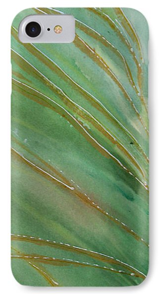 IPhone Case featuring the painting Spring Grasses by Susan Crossman Buscho