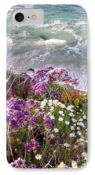 IPhone Case featuring the photograph Spring Greets Waves by Susan Garren