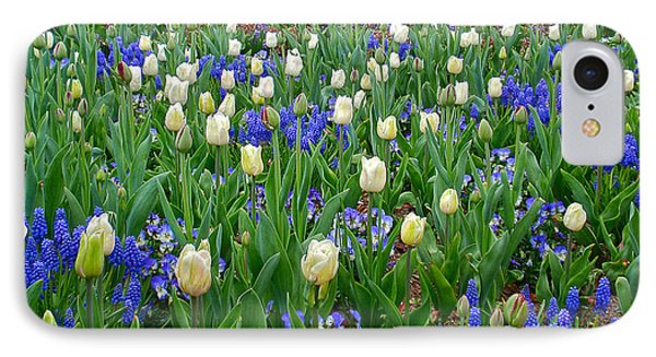 IPhone Case featuring the photograph Spring In Giverny by Kathy Ponce