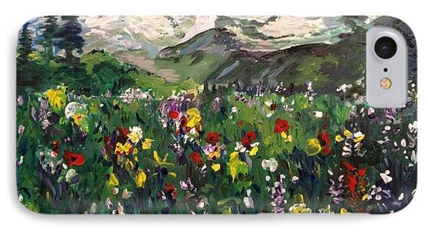Spring In My Heart IPhone Case by Belinda Low