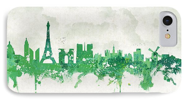 Spring In Paris France IPhone Case by Aged Pixel