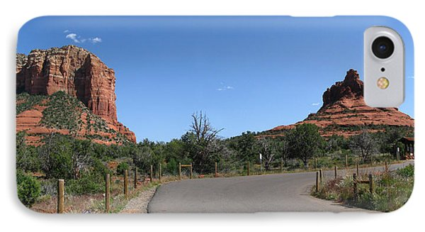 Spring In Sedona IPhone Case by Bedros Awak