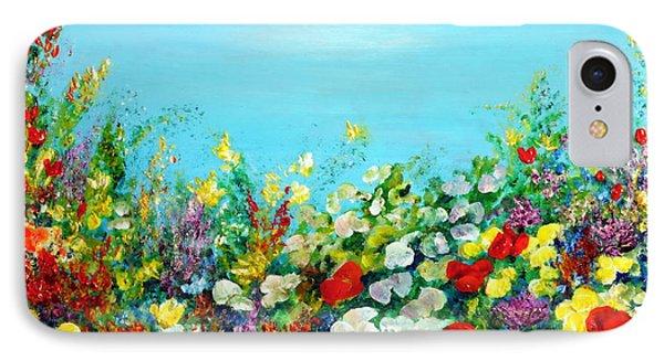 Spring In The Garden IPhone Case by Teresa Wegrzyn