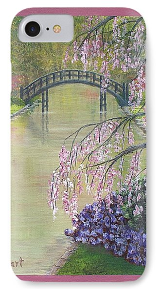 Spring In The Garden IPhone Case