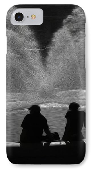 IPhone Case featuring the digital art Spring In The Metro by Kelvin Booker